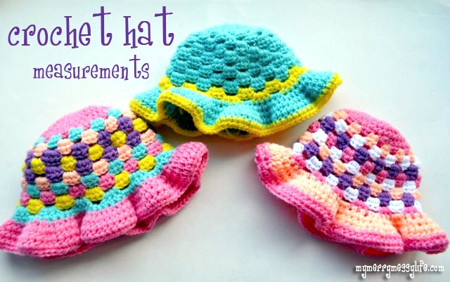 Head and Hat Measurements for Crochet and Knitting