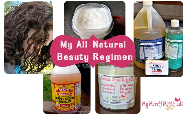 All Natural Beauty Regimen
