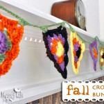 Fall Crochet Mantel Bunting – Granny Stitch