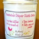 Homemade Diaper Rash Cream – Green & Non-Toxic