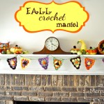 Fall Crochet Mantel