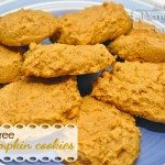 Pumpkin Cookies with Rice Flour Recipe {Gluten-Free}