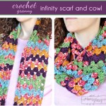 Crochet Granny Infinity Scarf and Cowl &#8211; Free Crochet Pattern