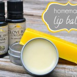 Homemade Lip Balm Recipe – All-Natural Clove and Orange