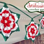 Crochet Christmas Star Granny Garland &#8211; Free Pattern