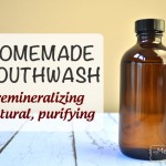 Homemade All-Natural Purifying Mouthwash