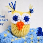 Crochet Owl Blanket Lovey – Free Pattern