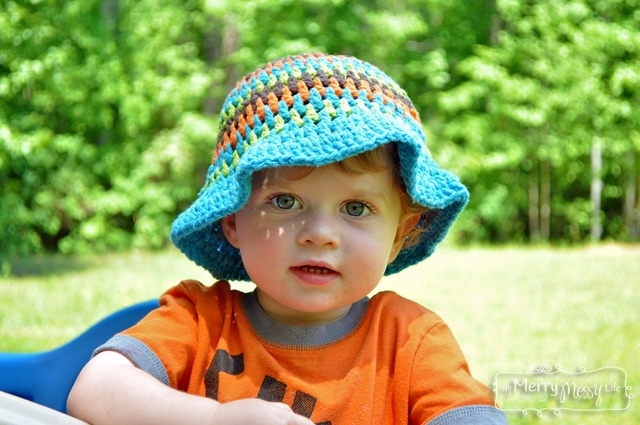 Crochet Sun Hat for Toddlers - Free Pattern