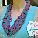 Crochet Clover Lattice Cowl – Free Pattern