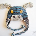 Crochet Moose Beanie – Free Crochet Hat Pattern for All Sizes