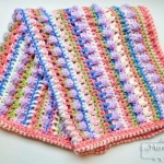 Sugar Love Baby Blanket – Free Crochet Pattern