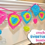 Crochet Sweetheart Bunting Decoration – Free Pattern