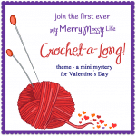Crochet-a-long - crochet a project for Valentine's Day with other crochet enthusiasts!