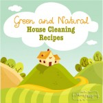 Green and Natural House Cleaning Recipes - All Easy and Frugal, too!