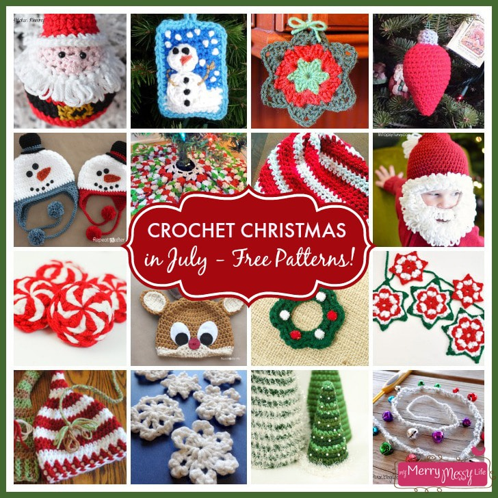 Free Crochet Pattern Christmas : Crochet Christmas in July ? Free Pattern Roundup!