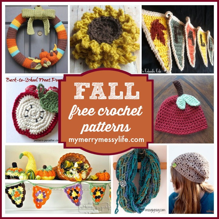 Fall and Autumn Free Crochet Pattern Roundup