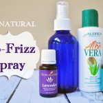 Homemade No Frizz Hair Spray – All Natural