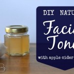 DIY Facial Toner with Apple Cider Vinegar and Essential Oils