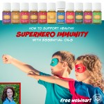 How to Have Superhero Immunity with Essential Oils & Supplements