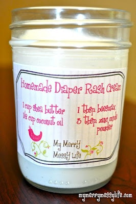3d7f8345ae Homemade Diaper Rash Cream - Natural & Non-Toxic - My Merry Messy Life
