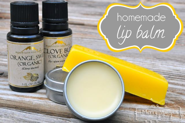 Homemade Lip Balm Recipe - All-Natural