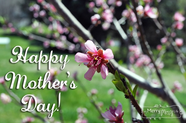 My Merry Messy Life: Happy Mother's Day!