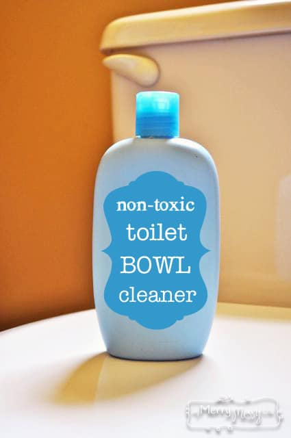 My Merry Messy Life: Non Toxic Homemade Toilet Bowl Cleaner with Castile Soap, Baking Soda and Essential Oils