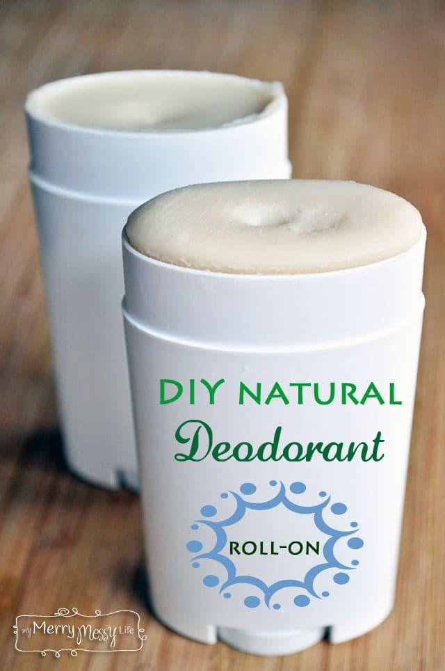 DIY Natural Roll-On Deodorant - Non