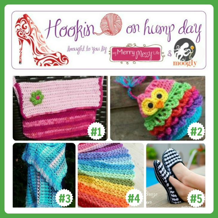 Hookin On Hump Day #76 - Link Party for the Fiber Arts