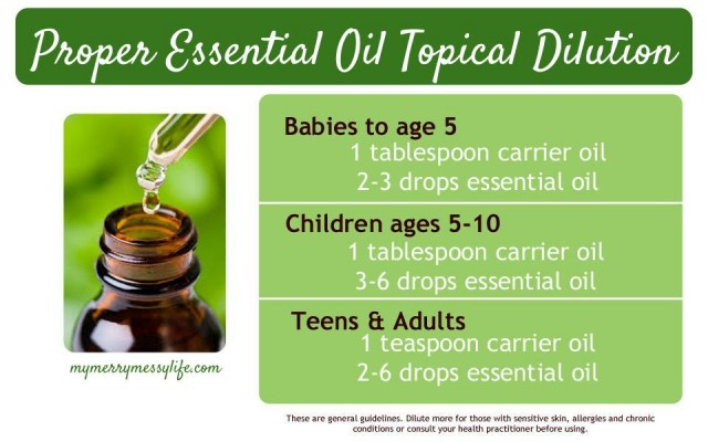 How to Properly Dilute Essential Oils