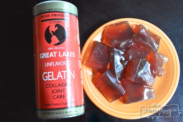 Real Food Jello Recipe using Gelatin from Grass-Fed Cows