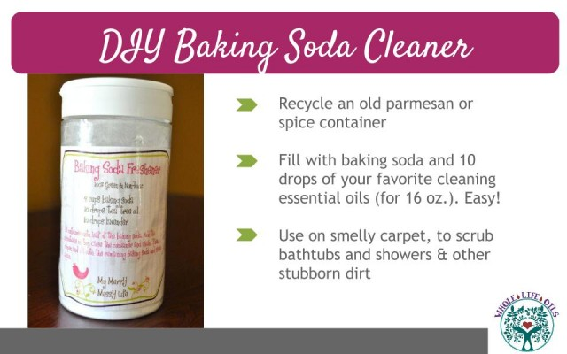 DIY Baking Soda Cleaner with Essential Oils - Natural, Scrubbing Power without Toxic Chemicals