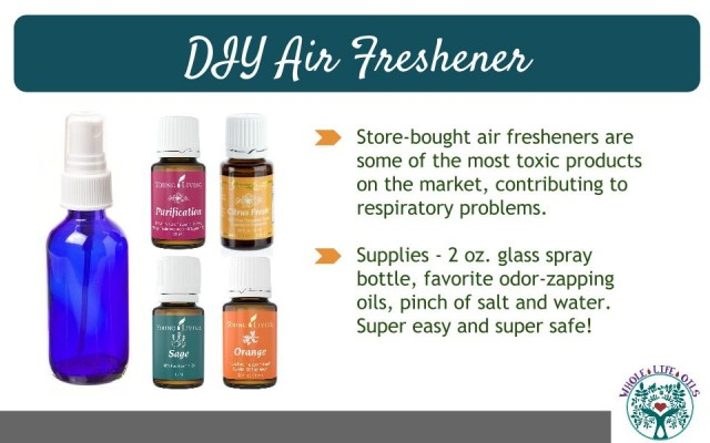 DIY Air Freshener Recipe - Ditch the Toxic Febreeze for This Easy and Safe Recipe!