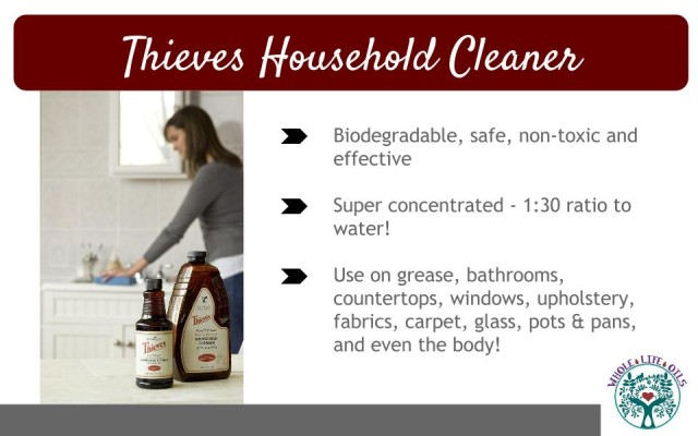 Thieves Household Cleaner - A Safe, Non-Toxic Way to Clean Your House!