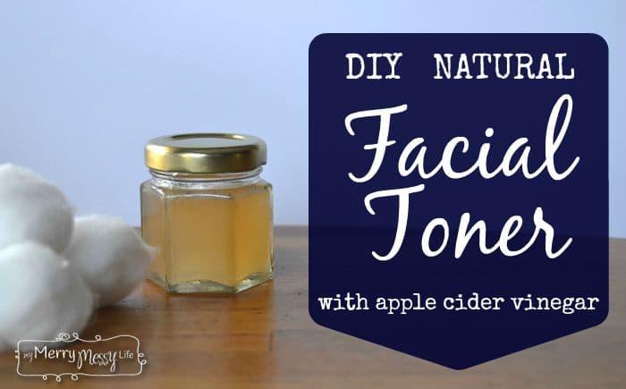 DIY Facial Toner with Apple Cider Vinegar