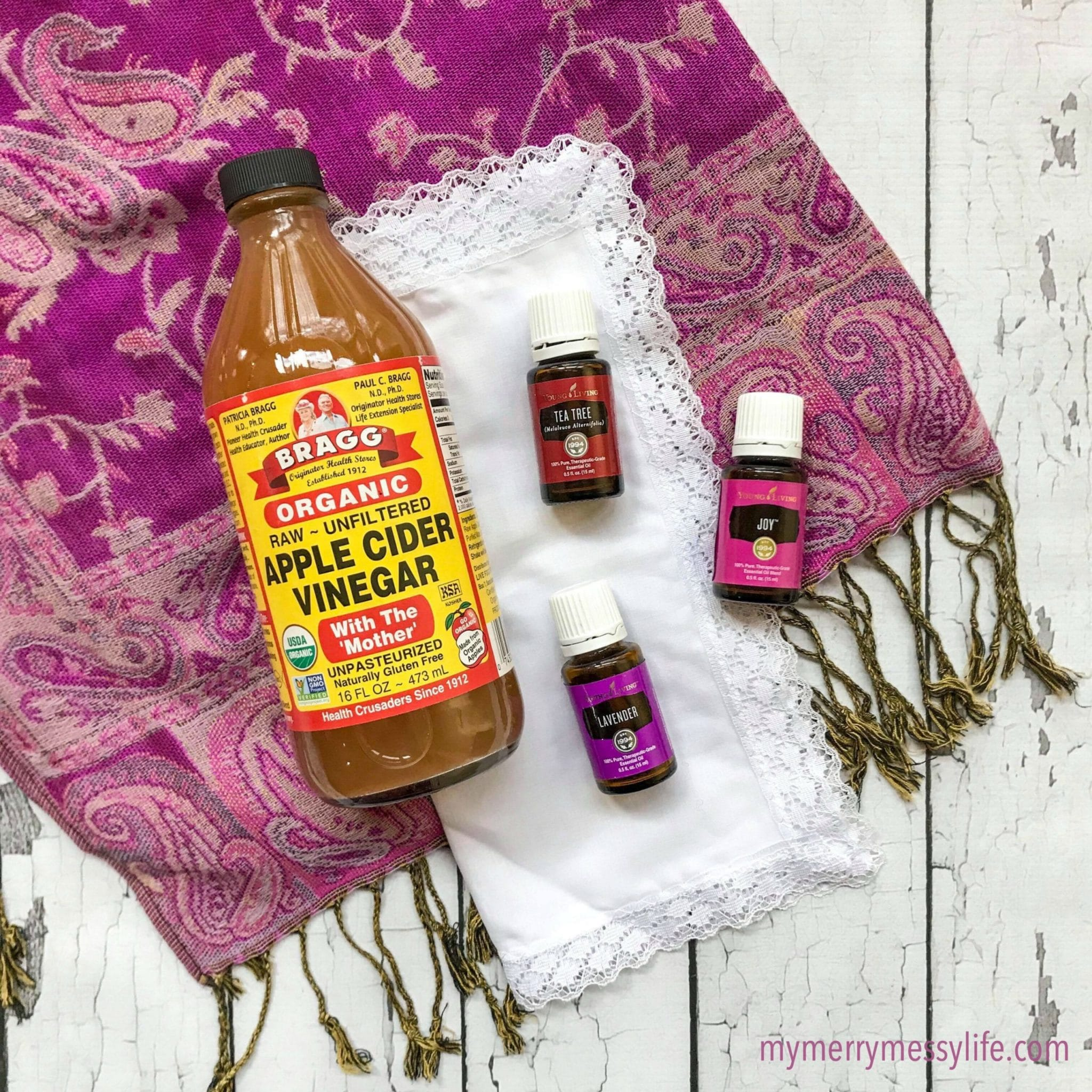Apple Cider Vinegar and Essential Oils as a Hair Tonic and Clarifying Shampoo