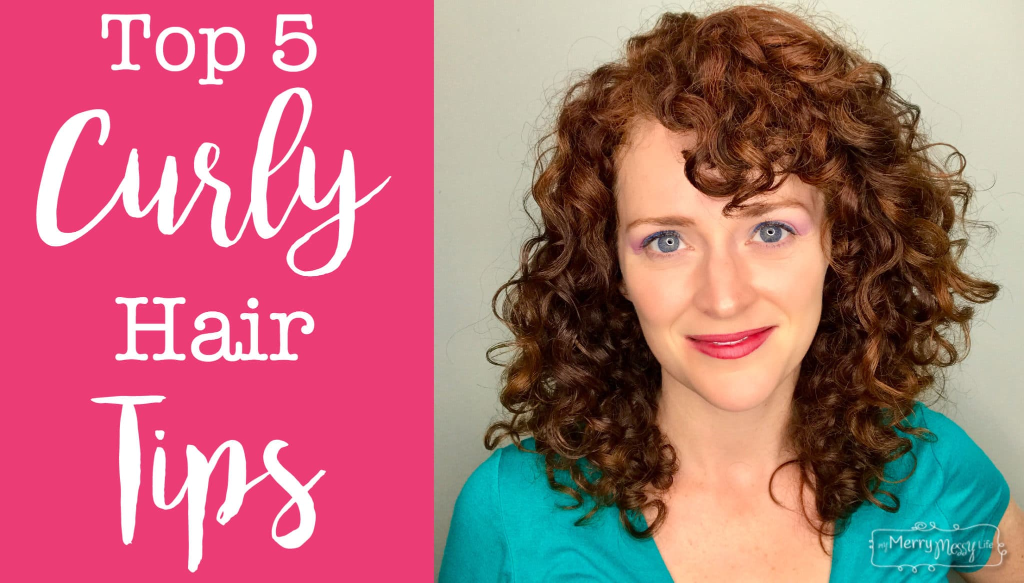 Top 5 Curly Hair Tips