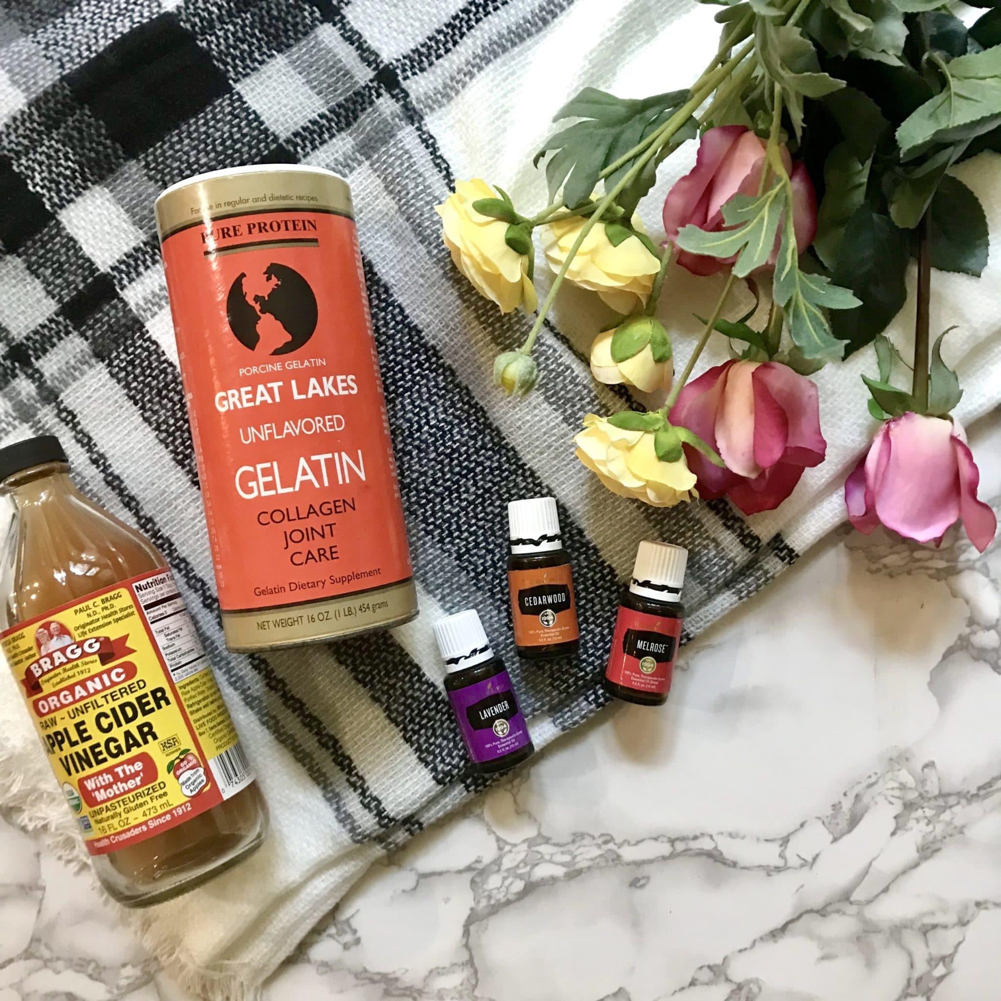 DIY Gelatin Hair Protein Treatment - My