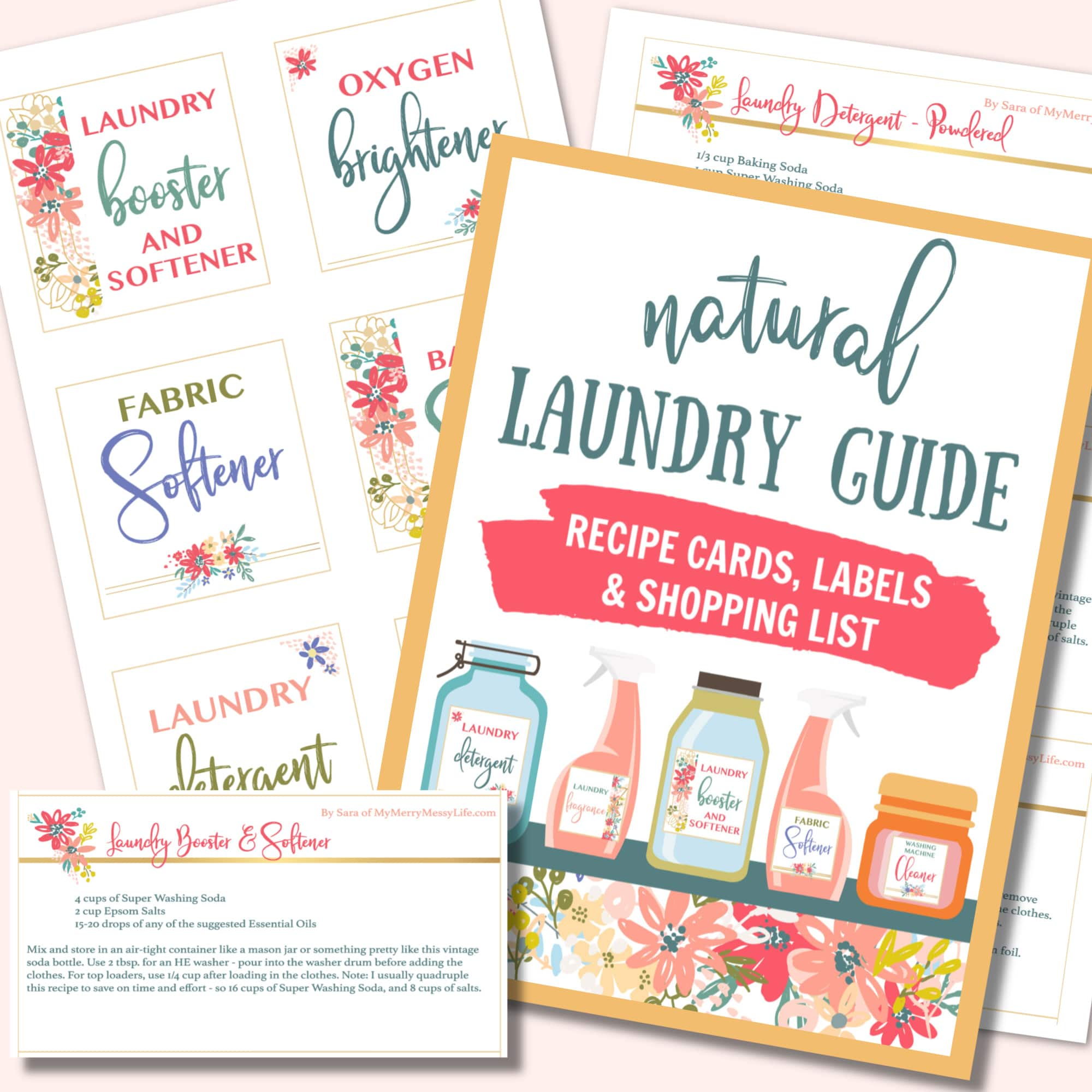 image about Printable Guide named Natural and organic Laundry Marketing consultant Printable