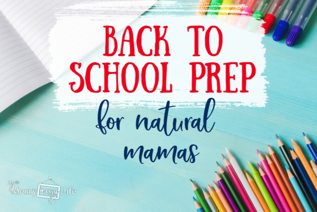 Back to School Prep for Natural Mamas