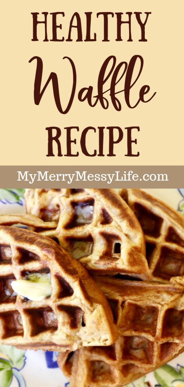 Cinnamon, Einkorn, Flax Waffle Recipe