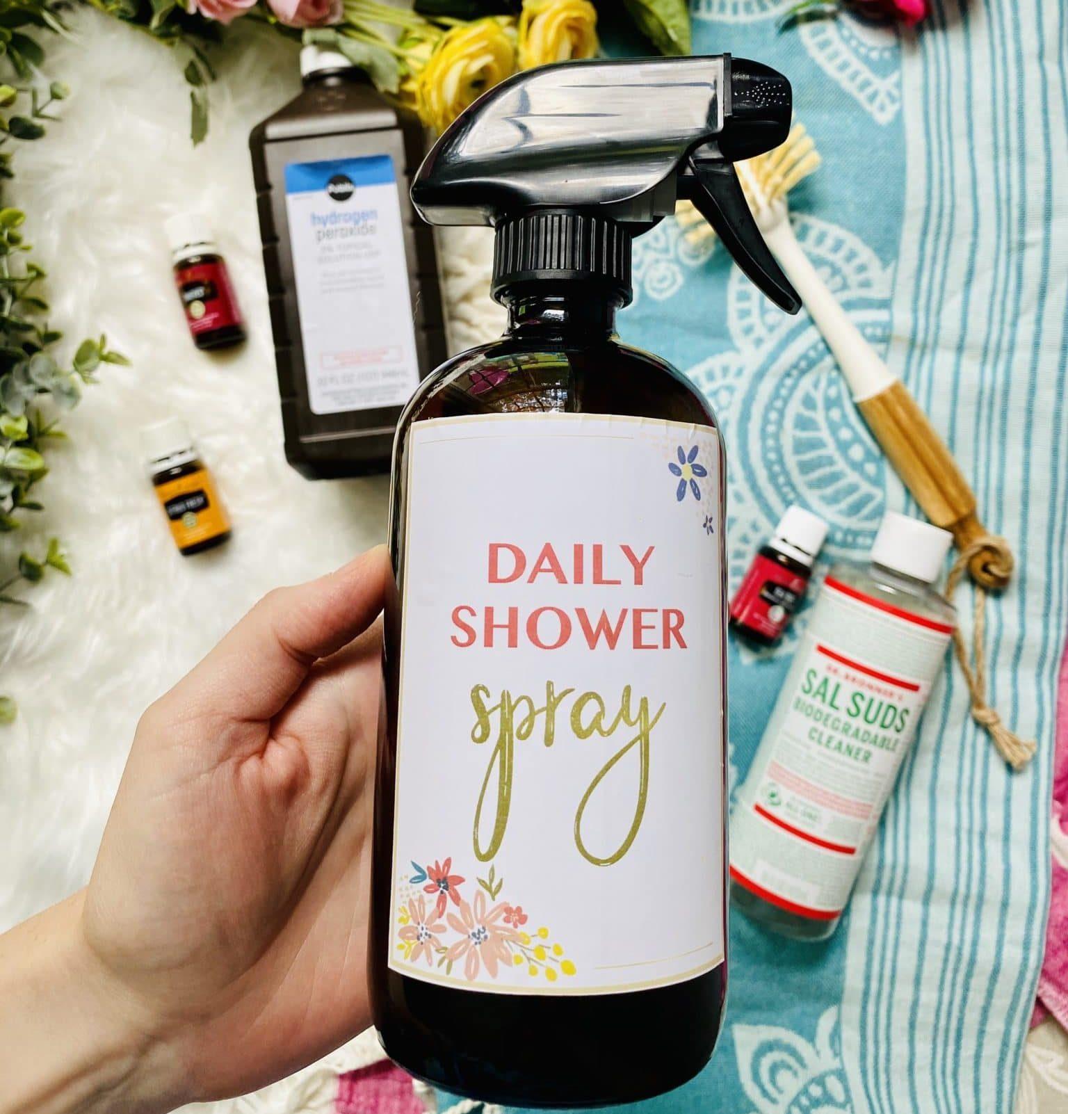 Diy Natural Shower Spray My Merry Messy Life